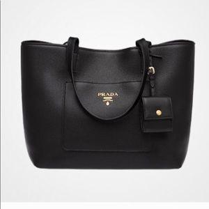 Authentic  Saffiano Prada Leather Bag